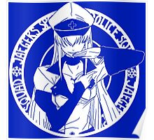 Jaegers Special Police Squad - White Poster