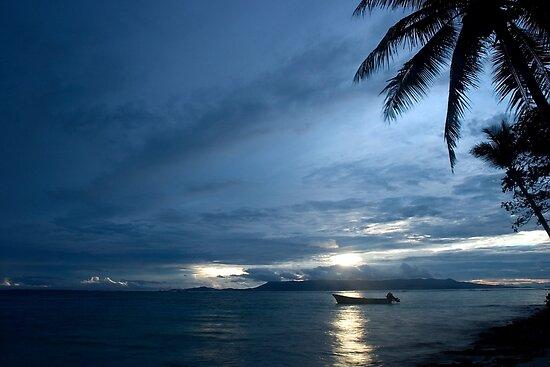 And Atoll Dawn - Pohnpei, Micronesia by Alex Zuccarelli