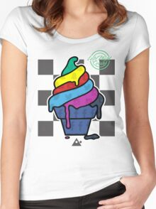 Social Ice Cream  Women's Fitted Scoop T-Shirt