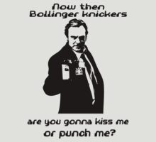 Kiss me or punch me? by RockyBadlands