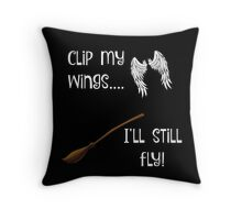 Keep on flying! Throw Pillow