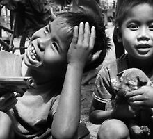 Playthings - Phu Hin Bun, Laos by Alex Zuccarelli