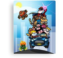 Last Day of Summer Street Fighter Poster Canvas Print