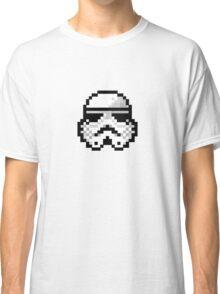 8 bit storm trooper Classic T-Shirt