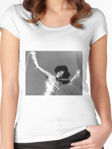 Diana Ross, 1960s Women's Fitted Scoop T-Shirt