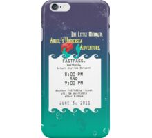 Ariel's Undersea Adventure- Fastpass iPhone Case/Skin