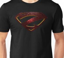 "The Letter Z in the Style of ""Man of Steel"" Unisex T-Shirt"