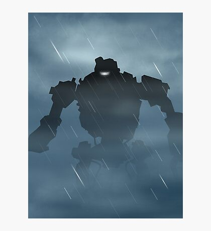 Origins Robot Photographic Print