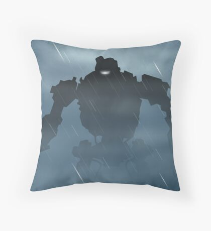 Origins Robot Throw Pillow