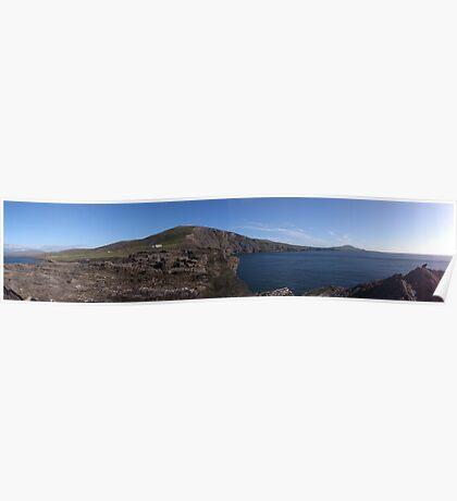 Panorama View Valentia Island, Ireland Poster