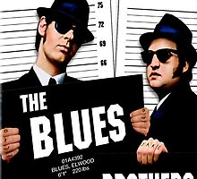 The Blues Brothers - Movie Poster by gueguette