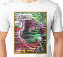 TOUR DE FRANCE; Surreal Bicycle Racing Print Unisex T-Shirt