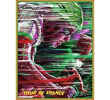 TOUR DE FRANCE; Surreal Bicycle Racing Print Photographic Print