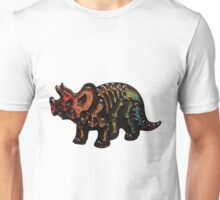 If At First You Don't Succeed, Triceratops Again Unisex T-Shirt