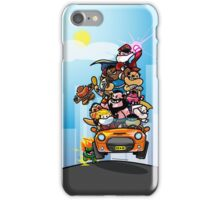 Last Day of Summer Street Fighter Poster iPhone Case/Skin