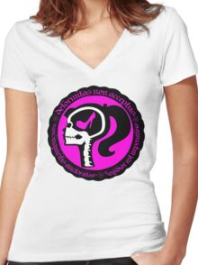 Conformity is Expression Women's Fitted V-Neck T-Shirt