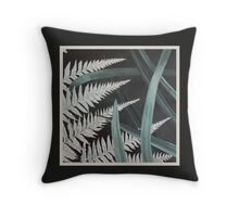 Fern and Flax, New Zealand Throw Pillow