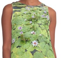 Lovely Lily Pads Contrast Tank