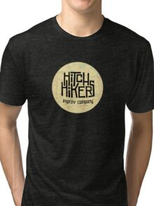 Hitchhikers Improv Map Tri-blend T-Shirt