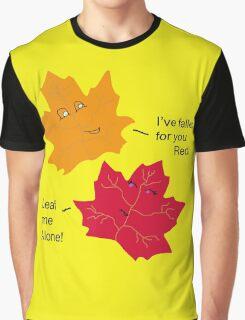 Punny Leaf Humor Graphic T-Shirt