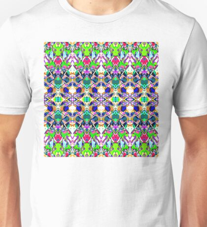 Abstract Symmetry of Colors Unisex T-Shirt