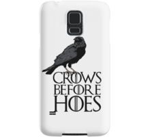 Crows before hoes  Samsung Galaxy Case/Skin