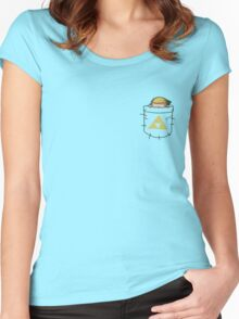 Pocket Link (shirts any color!) Women's Fitted Scoop T-Shirt