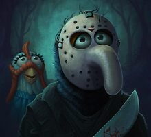 Muppet Maniacs - Gonzo Voorhees by GrimbyBECK