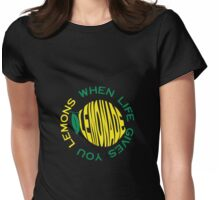 Lemons Lemonade Womens Fitted T-Shirt