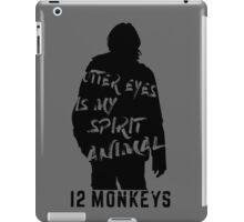 Otter eyes - 12 monkeys (grey) iPad Case/Skin