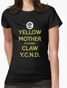 yellow claw Womens Fitted T-Shirt