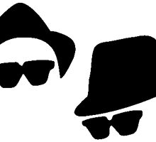 The Blues Brothers - Hat & Glasses by gueguette