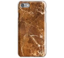 Aged bronze marble pattern iPhone Case/Skin