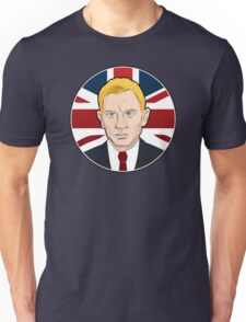 007: Daniel Craig on Union Jack Unisex T-Shirt