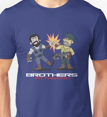 Gears of War brother to the end Unisex T-Shirt
