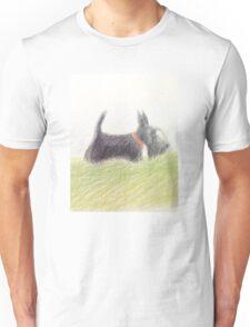 Scottie – pencil sketch Unisex T-Shirt