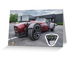 Lotus 7 Re-Do Greeting Card