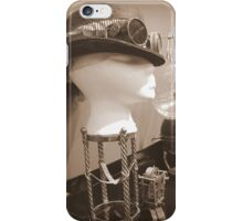 Steampunk Display 1.0 iPhone Case/Skin