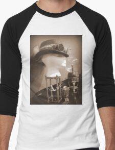 Steampunk Display 1.0 Men's Baseball ¾ T-Shirt