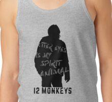 Otter eyes - 12 monkeys (grey) Tank Top