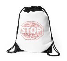 Stop Migraines! Drawstring Bag