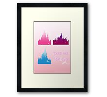 Disney Parks- Take me home Framed Print
