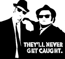 The Blues Brothers - They'll never get caught by gueguette