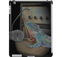 Bearded dragon rock music iPad Case/Skin
