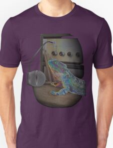 Bearded dragon rock music T-Shirt