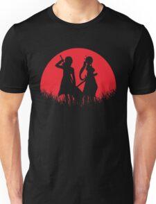 Kirito Leafa Red Moon Unisex T-Shirt