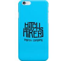 Hitchhikers Improv (Retro Black) iPhone Case/Skin