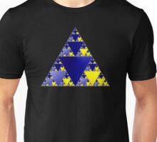 Sierpinski Triangle 001 Unisex T-Shirt