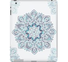 It is Icy Cold Outside, #redbubble, #mandala, #abstract iPad Case/Skin