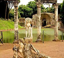 Hadrian's Villa, Tivoli, Italy by Barbara  Brown